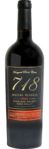 Vineyard Block Estate 718 Special Reserve