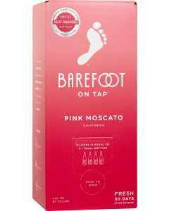Barefoot On Tap Pink Moscato