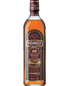 Bushmills Single Malt Irish Whiskey Aged 16 Years