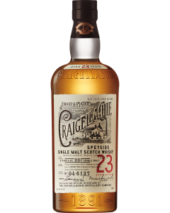 Craigellachie Single Malt Scotch Whisky Aged 23 Years