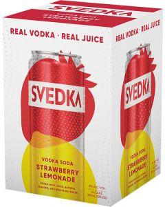 Svedka Strawberry Lemonade Vodka Soda