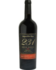 Vineyard Block Estate 231 Special Reserve Cabernet Sauvignon