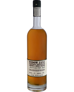 Widow Jane Whiskey Distilled From a Rye Mash - American Oak Aged